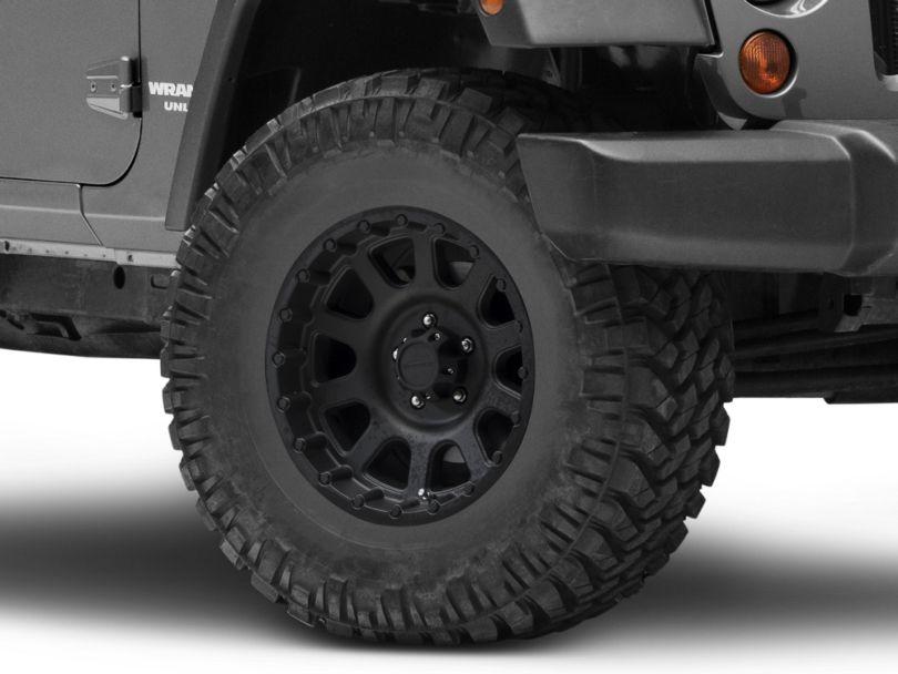 Pro Comp Wheels Series 7032 Flat Black Wheel; 16x8 (07-18 Jeep Wrangler JK)