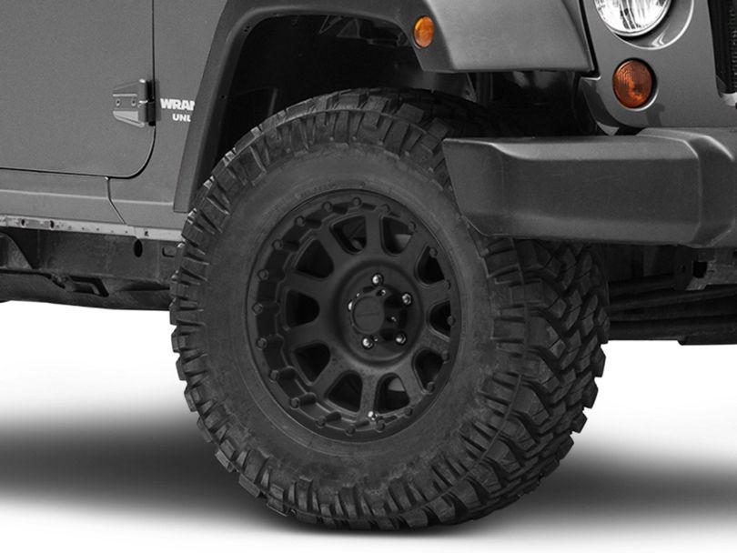Pro Comp Wheels Series 7032 Flat Black Wheel; 17x9 (07-18 Jeep Wrangler JK)