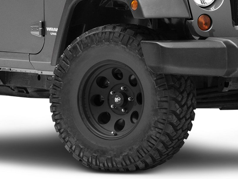 Pro Comp Wheels Series 7069 Flat Black Wheel - 16x8 (07-18 Jeep Wrangler JK)
