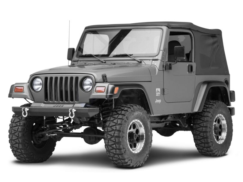Smittybilt SRC Rock Crawler Classic Front Bumper with D-Rings (87-06 Jeep Wrangler YJ & TJ)