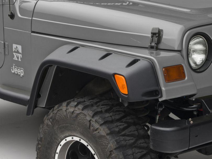 Smittybilt 4 Fender Flares, 6 in. Wide (97-06 Jeep Wrangler TJ)