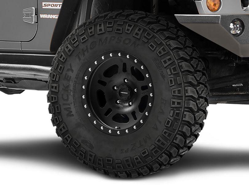 Pro Comp Wheels La Paz Series 29 Satin Black Wheel; 16x8 (07-18 Jeep Wrangler JK)