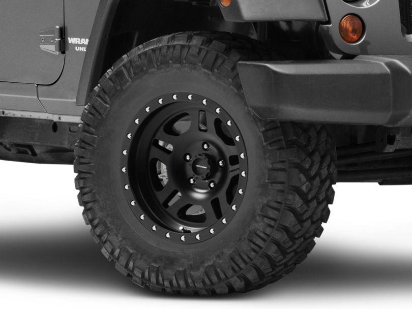 Pro Comp Wheels La Paz Series 5029 Black Wheel; 17x8.5 (07-18 Jeep Wrangler JK)