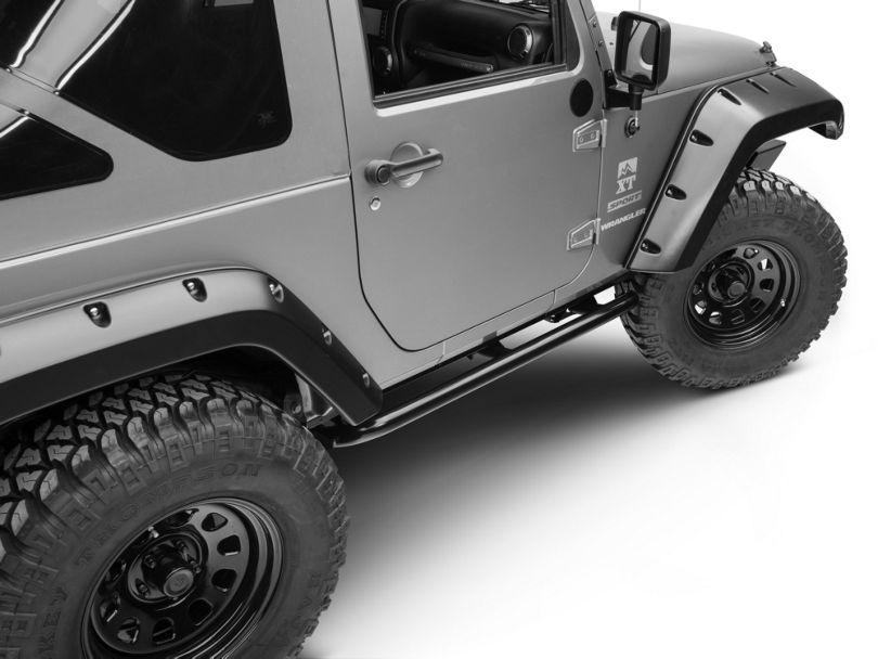 ARB Rock Sliders - Satin Black (07-18 Jeep Wrangler JK 2 Door)