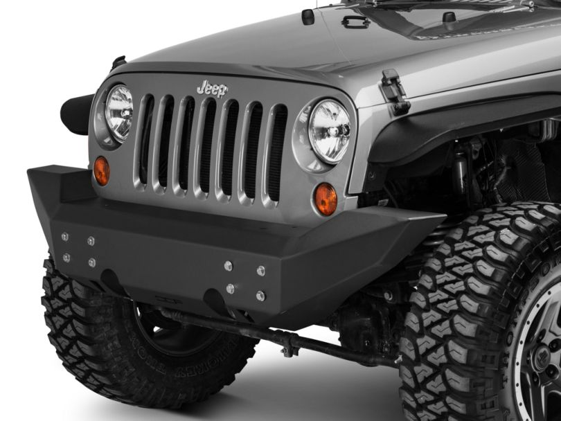 Off Camber Fabrications by MBRP Full Width Front Non-Winch Bumper (07-18 Jeep Wrangler JK)