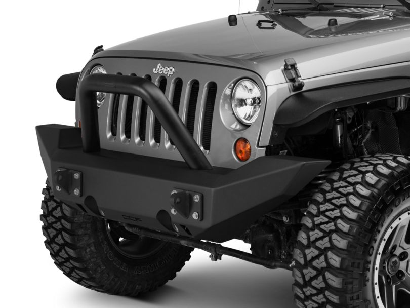 Off Camber Fabrications by MBRP Full Width Front Non-Winch Bumper Package (07-18 Jeep Wrangler JK)