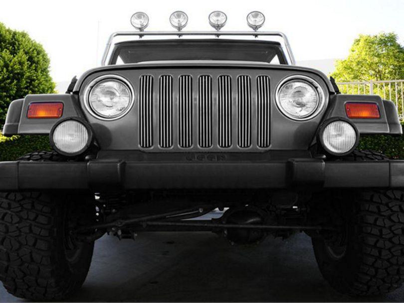 T-REX Vertical Billet Grille Insert (97-06 Jeep Wrangler TJ)