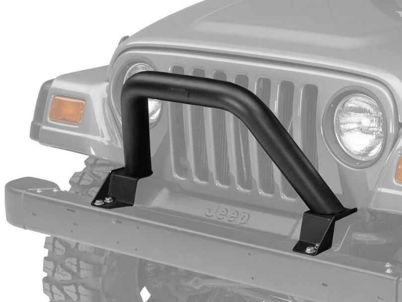 Off Camber Fabrications by MBRP Black Front Bumper Grille Guard/Light Bar (97-06 Jeep Wrangler TJ)