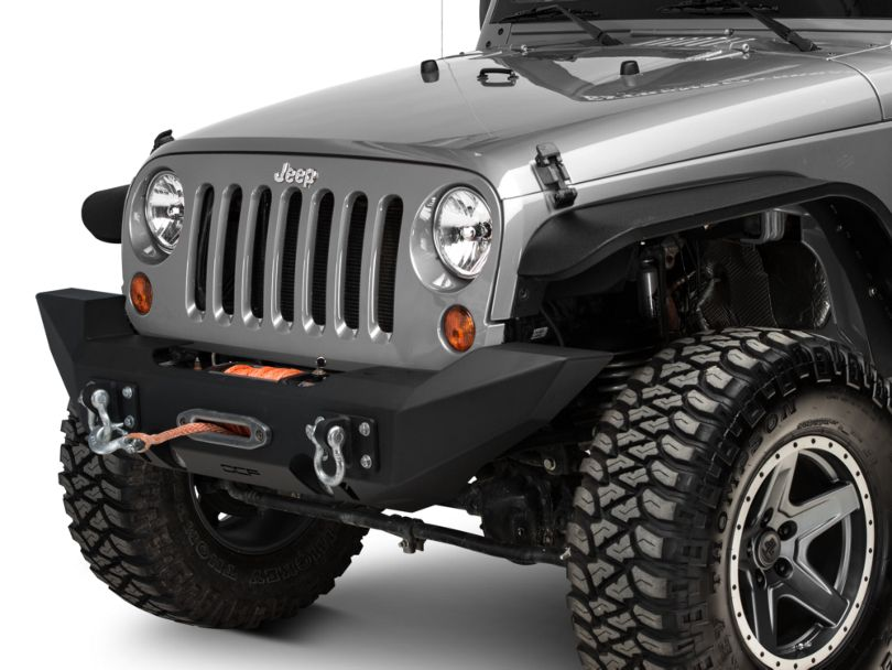 Off Camber Fabrications by MBRP D-Ring Bracket Mount (07-20 Jeep Wrangler JK & JL)