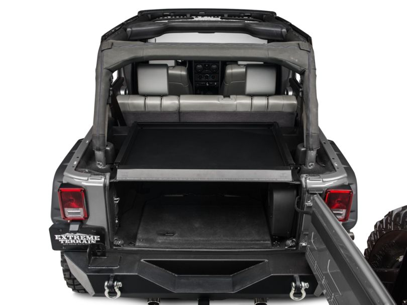 Tuffy Security Deck Enclosure (07-10 Jeep Wrangler JK)