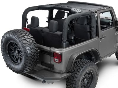 Dirty Dog 4x4 Front Sun Screen (07-18 Jeep Wrangler JK)