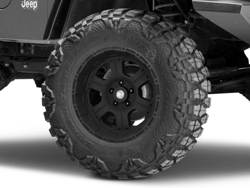 Pro Comp Wheels Series 7089 Flat Black Wheel; 17x9 (97-06 Jeep Wrangler TJ)