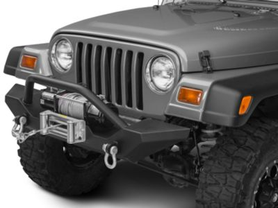 Add Barricade Trail Force HD Front Bumper (87-06 Wrangler YJ & TJ)