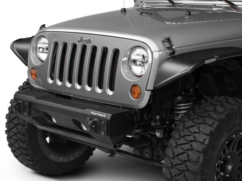 Rugged Ridge All-Terrain Modular Front Bumper (07-18 Jeep Wrangler JK)