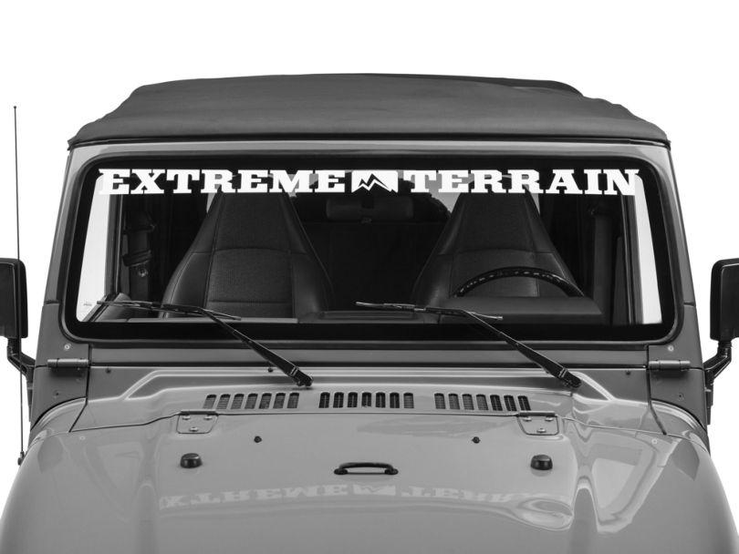 Windshield Weatherstrip (97-06 Jeep Wrangler TJ)