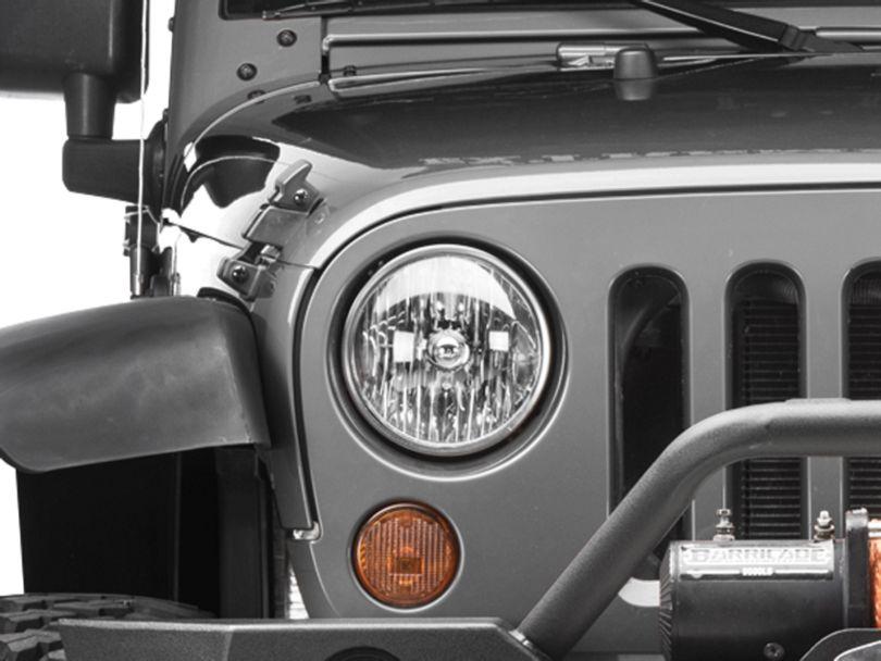 Headlight - Passenger Side (07-18 Jeep Wrangler JK)