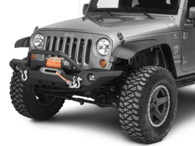 Omix-ADA Left Headlight Assembly (07-18 Jeep Wrangler JK)