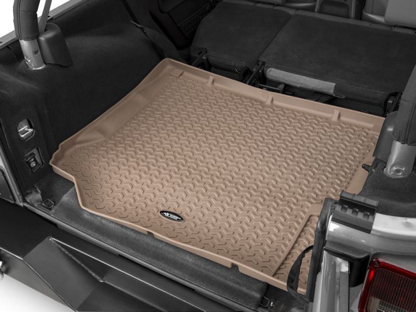 Rugged Ridge All-Terrain Cargo Liner - Tan (07-10 Jeep Wrangler JK)
