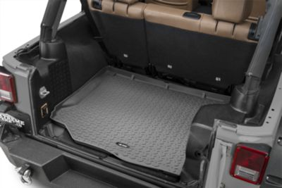 Rugged Ridge Cargo Liner - Gray (11-18 Jeep Wrangler JK)