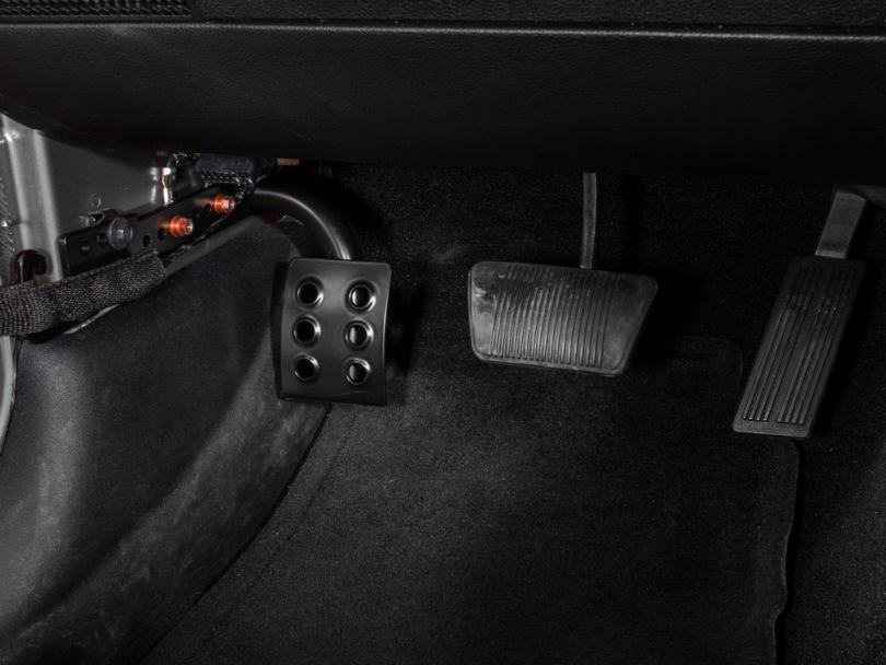 M.O.R.E. Dead Pedal; Driver Side (07-18 Jeep Wrangler JK w/ Automatic Transmission)