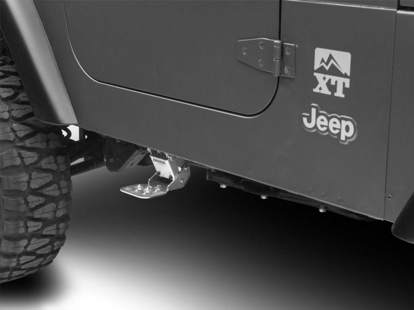 M.O.R.E. Hide-A-Step (97-06 Jeep Wrangler TJ)