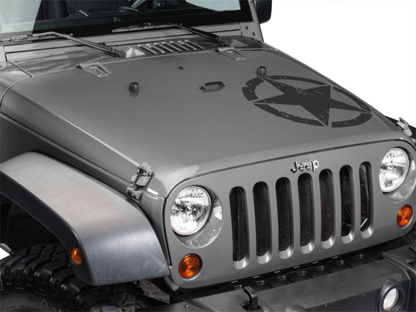 On The Move Star Kit - Matte Black (87-20 Jeep Wrangler YJ, TJ, JK & JL)