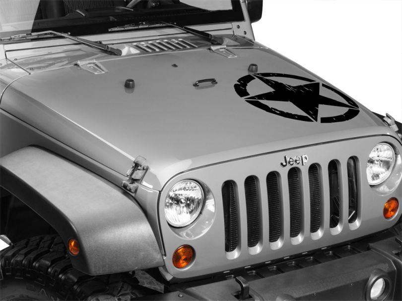 On The Move Star Kit - Black (87-20 Jeep Wrangler YJ, TJ, JK & JL)