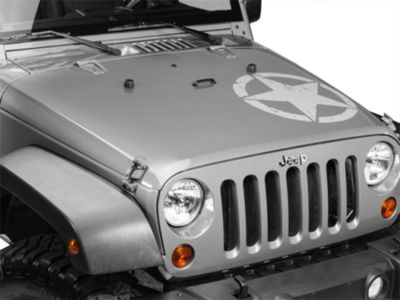 On The Move Star Kit - Silver (87-19 Jeep Wrangler YJ, TJ, JK & JL)