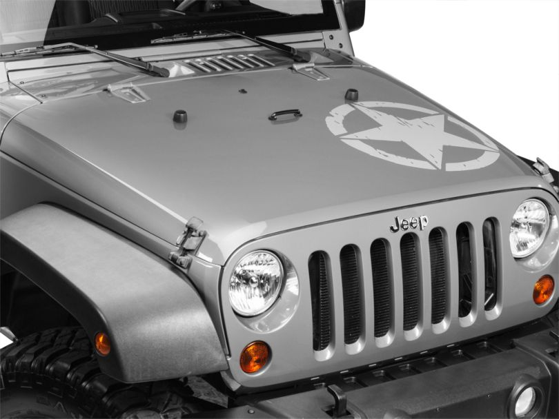 On The Move Star Kit - Silver (87-20 Jeep Wrangler YJ, TJ, JK & JL)