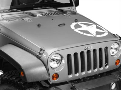 On The Move Star Kit - White (87-19 Jeep Wrangler YJ, TJ, JK & JL)