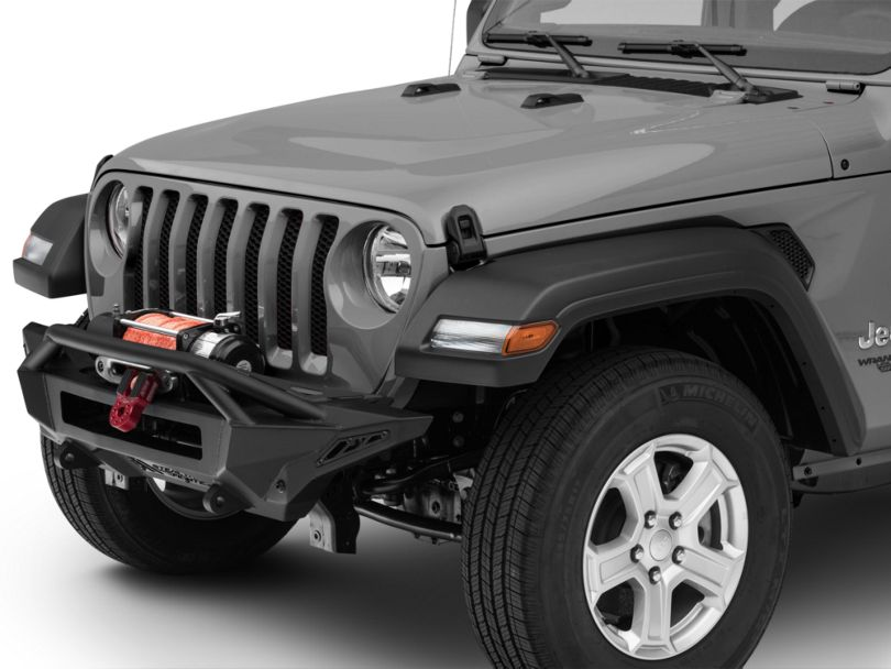 Addictive Desert Designs Stealth Fighter Top Hoop Front Bumper (18-20 Jeep Wrangler JL)