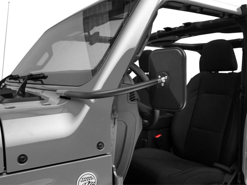 Rugged Ridge Rectangular Trail Mirror (18-20 Jeep Wrangler JL)