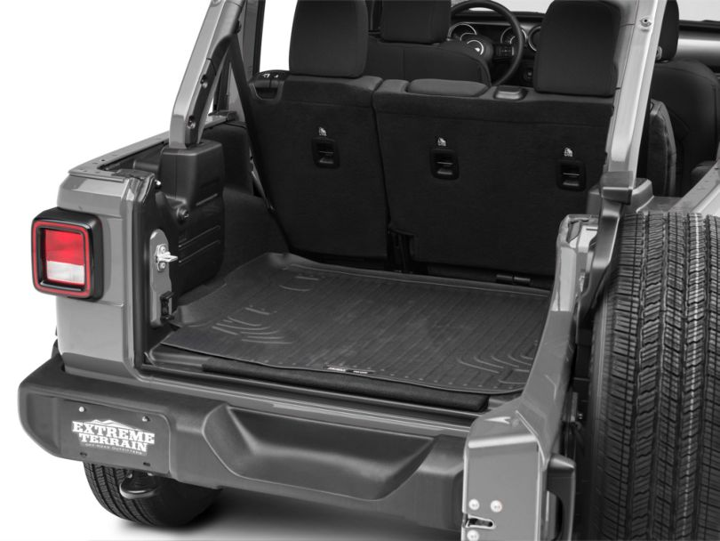 Husky WeatherBeater Cargo Liner - Black (18-20 Jeep Wrangler JL 4 Door)