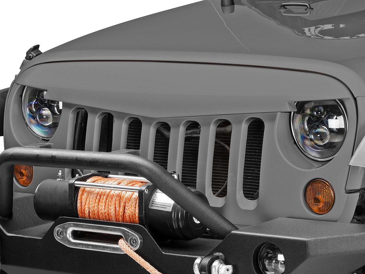 Redrock 4x4 Wrangler Defender Grille Pre Painted J6948 07 17 Jeep Wrangler Jk Free Shipping