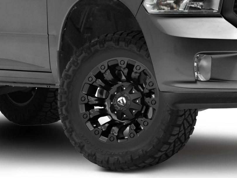 Fuel Wheels Vapor Matte Black 5-Lug Wheel - 17x9; 1mm Offset (02-18 RAM 1500, Excluding Mega Cab)
