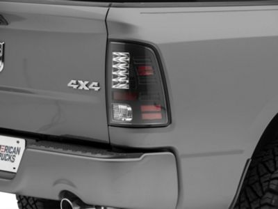 Axial Black LED Tail Lights (09-18 w/o Factory LED Tail Lights)