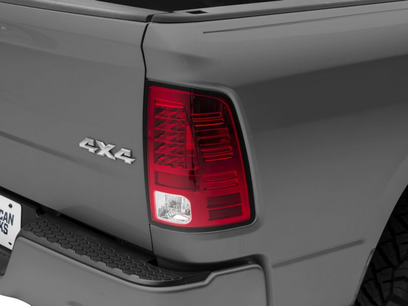 LED Tail Lights - Red Clear (09-18 RAM 1500)