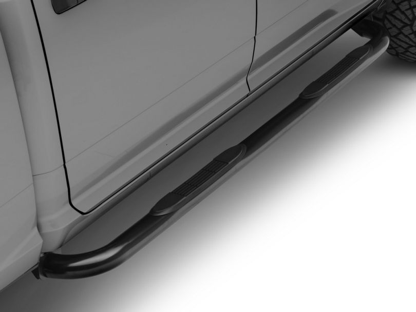 3 in. Blackout Series Side Step Bars (09-18 RAM 1500 Quad Cab, Crew Cab)