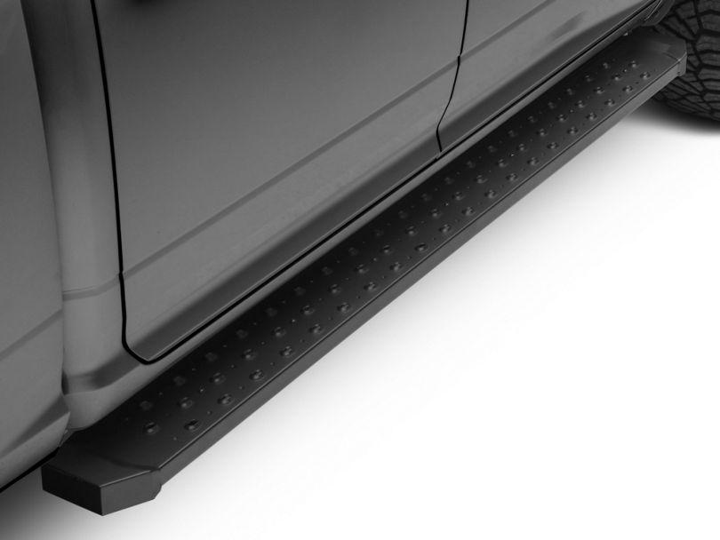 Barricade Rattler Steel Running Boards - Black (09-18 RAM 1500)
