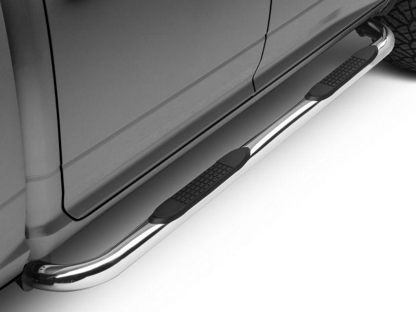 Barricade 3 in. Side Step Bars - Stainless Steel (09-18 RAM 1500)