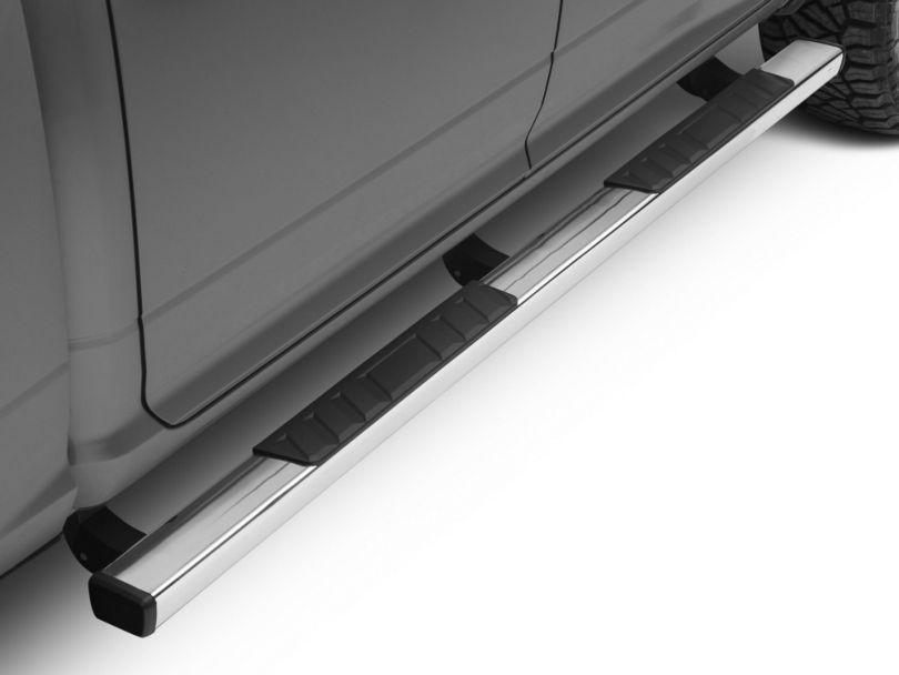 Barricade T4 Side Step Bars - Stainless Steel (09-18 RAM 1500 Quad Cab, Crew Cab)