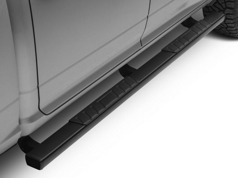 Barricade T4 Side Step Bars; Textured Black (09-18 RAM 1500 Quad Cab, Crew Cab)