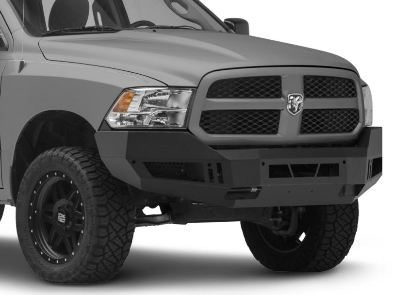Barricade Extreme HD Front Bumper; Textured Black (13-18 RAM 1500, Excluding Rebel)