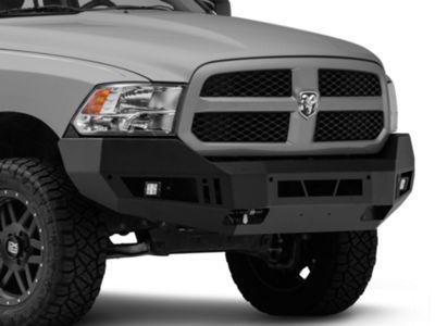 Barricade Extreme HD Front Bumper w/ LED Fog Lights - Textured Black (13-18 RAM 1500, Excluding Rebel)