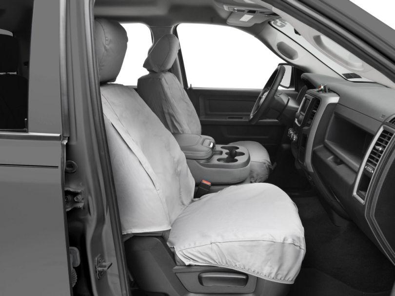 Covercraft SeatSaver Front Row Seat Covers - Gray (09-18 RAM 1500 w/ Bucket Seats)