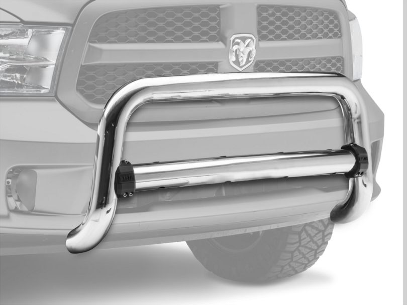 Contour 3.50-Inch Bull Bar; Chrome (09-18 RAM 1500, Excluding Rebel)