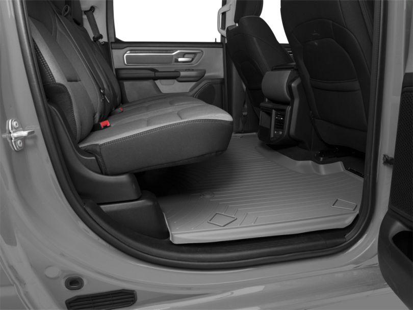 Weathertech DigitalFit Rear Floor Liner - Gray (19-20 RAM 1500 Crew Cab)