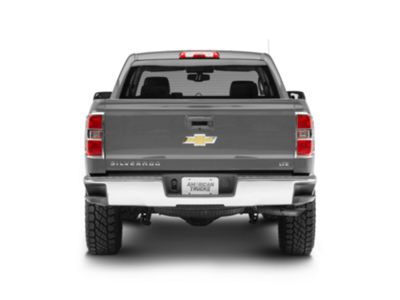 14-16 Chevy Silverado 1500 w//Long bed Triple Chrome Gas Door Trim Bezel Cover