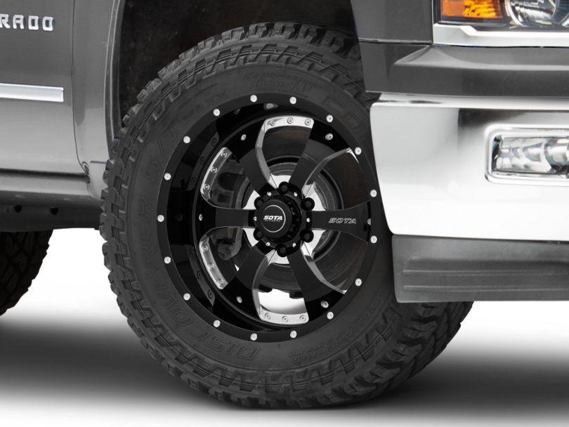 SOTA Off Road NOVAKANE Death Metal 6-Lug Wheel - 20x9; 0mm Offset (14-18 Silverado 1500)
