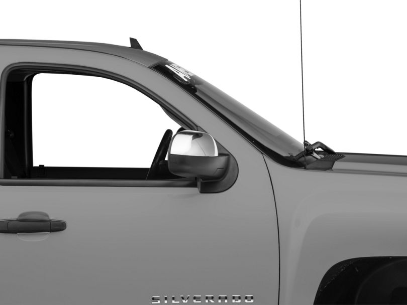 Chrome Mirror Covers (07-13 Silverado 1500 w/o Tow Mirrors)